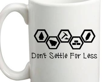 Catan Coffee Cups