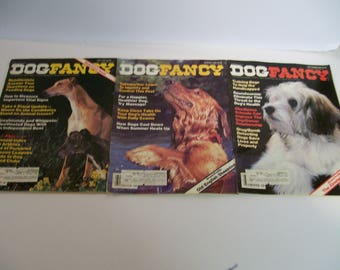 Dog Fancy Magazines year 1984