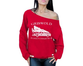 Griswold Christmas Sweatshirt Griswold Family Christmas Sweatshirt Ugly Christmas Sweater Holiday Sweatshirt Ugly Christmas Sweatshirt Xmas