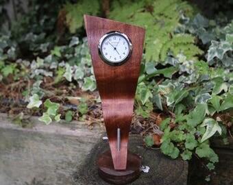 Desktop Clock / Simple Wooden Clock / Woodwork / Modern Clock /Wooden Desktop Clock/ساعة مكتبية/ساعة مميزة/ساعة مكتبية خشبية/هدية لكل شخص