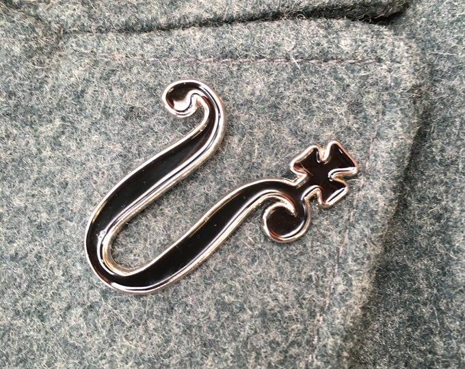 Autumn Symbol Enamel Pin