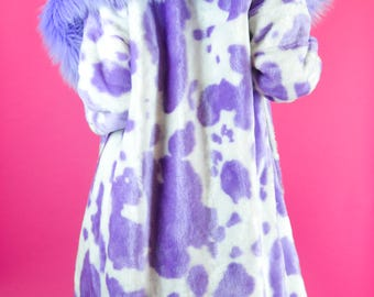 Saddle Up Cowgirl Faux Fur Jacket