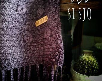 Crochet Si Sjo living blanket Lovely Lavender