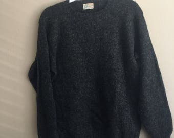 Vintage Grey Wool Sweater