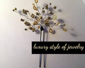 Hairpin   hair ornaments ( luxury style of jewelry )