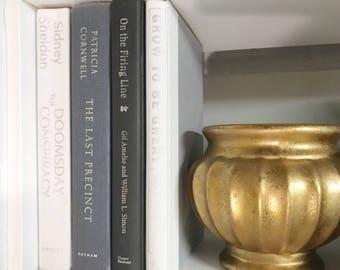 Gray White and Black Decorative Book Set