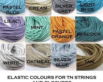 ADD ON  Elastic Colour Choices for Traveller's Notebook Strings and Closure