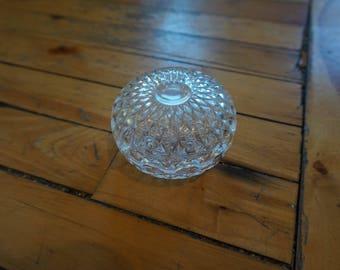 Nice vintage crystal bowl