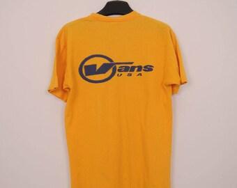 Vintage Vans USA T-Shirt
