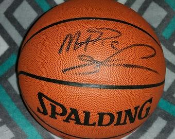 Magic Johnson Autographed Basketball