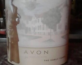 Avon's Mrs Albee tin.