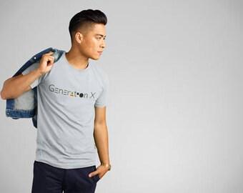 Generation X T-Shirt, GenerationX Pride T-Shirt, Generational T-Shirts