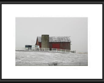 Country Winter, Photography, Free Shipping, Print, Framed Print, Canvas Wrap, Canvas with Floating Frame, Wall Art, Home Decor, Nature Pic