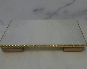 8 X 12 marble tray