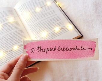 Custom Name or Quote Bookmark