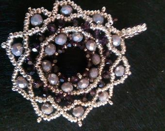 Silver-coloured necklace