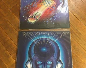 Journy Vinyl Record Album Set Of 2