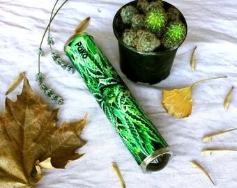 Teleidoscope. Fractal and Mandala explorer. Kaleidoscope. Hemp. Psycodelic art. Personalized gift. Marijuana. Handmade gift. Weed. Cannabis