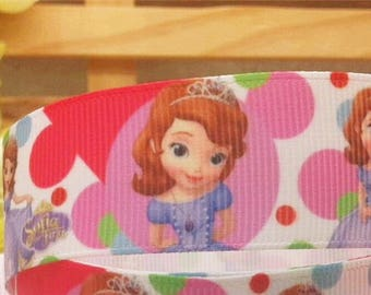 Ribbon wholesale GRAIN patterns DISNEY princesses