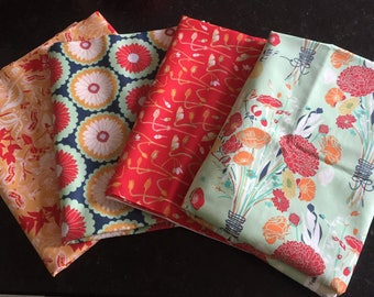 lot 4 PATCHWORK collection REMINISCE ART GALLERY fabrics