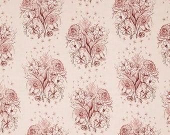 Free Spirit Mod Corsage Observations Sepia pink patchwork fabric