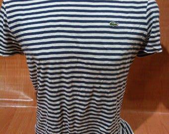 Vintage Lacoste Tshirts Lacoste Vintage StripesTshirts