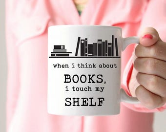Reader gift for bookworm Gift Under 20 Book Gift for Reader Gift for Author Gift Author Mug for Writer Gift Editor Gift for Copywriter