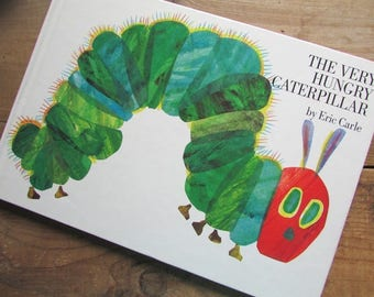 The Very Hungry Caterpillar Eric Carle Children's Picture Book Hardcover