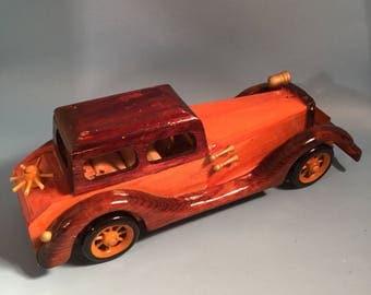 Model wood automobile