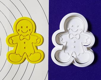 Gingerbread Man Cookie Cutter and Stamp
