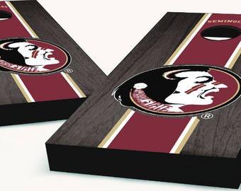 Florida State Seminoles Cornhole Boards