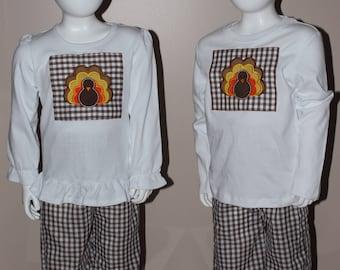 Thanksgiving Shirt and Pants