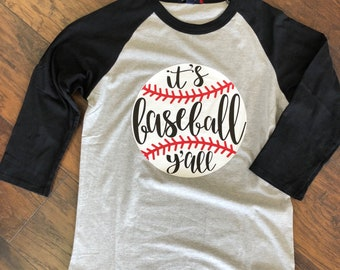 It's Baseball Y'all Baseball Tee