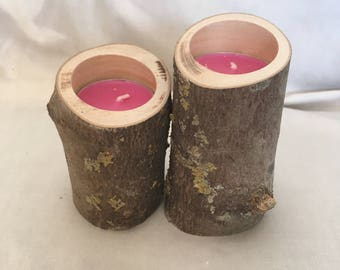 Pair of Tea Light Candle Holders