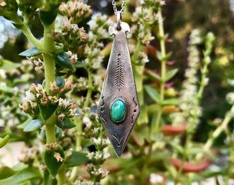 Vintage C.R. SOUSEA Tuquoise Necklace