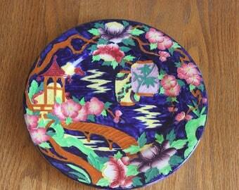 Maling Japanese Lattern Plate