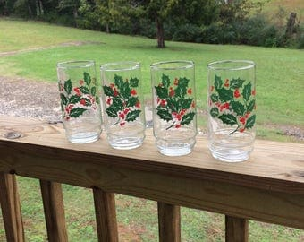 Christmas glasses