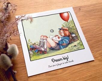 Chicken Days – Dream big! . Q6 Card