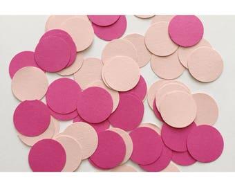 Pink Ombre Confetti, Pink Confetti, Ombre Theme