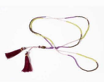 Necklace beads 41 cm