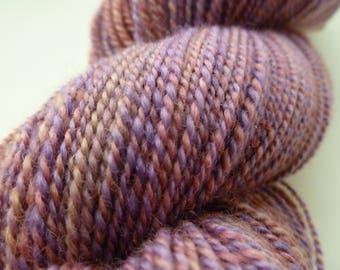 Handspun Two-Ply BFL Sock Yarn