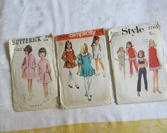 Vintage Children's Sewing Pattern Size 8