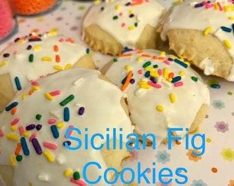 Cuccidatti- Sicilian Fig Cookies (Seasonal) 1lb