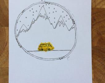 Van Life Series: Mountains