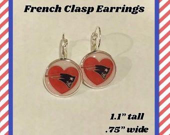 New England Patriots Earrings