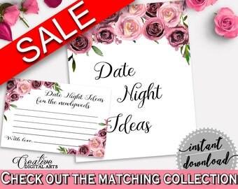 Date Night Ideas Bridal Shower Date Night Ideas Floral Bridal Shower Date Night Ideas Bridal Shower Floral Date Night Ideas Pink BQ24C