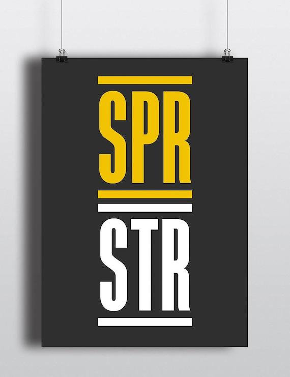 SPR STR | Wall Art | Poster