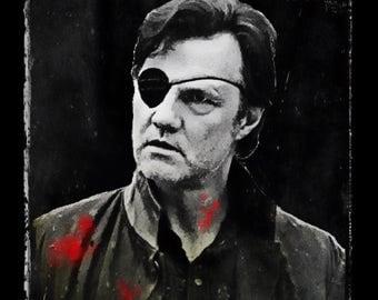 Morrissey/Morrissey/Walking Dead Mashup Poster