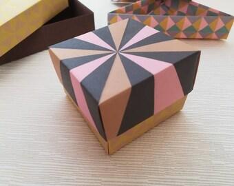 Origami Boxes Vintage fantasies (3pcs)
