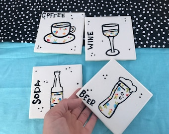 Coasters-- All the Beverages